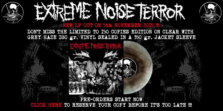 Extreme Noise Terror – S/T LP