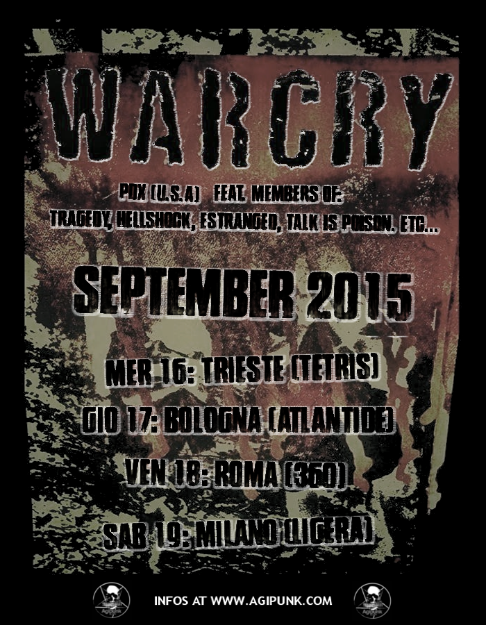 WARCRY Tour Date Italiane