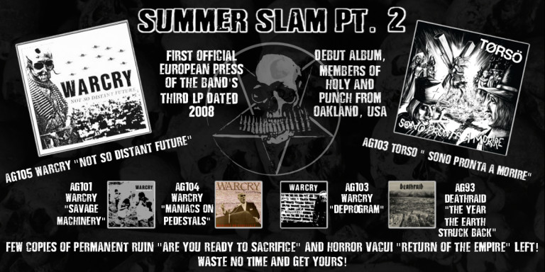 Agipunk Summer Slam PT. 2! 2 New Releases Out Now!